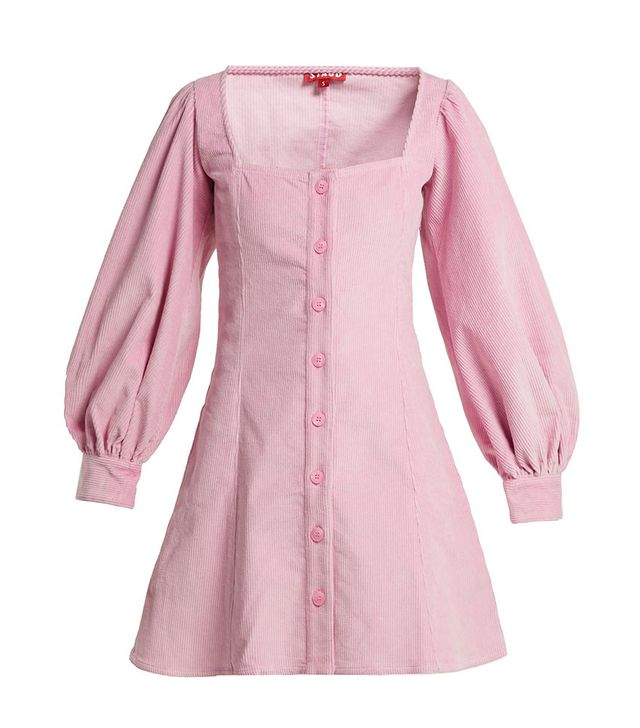 Stauds Corduroy Mini Dress