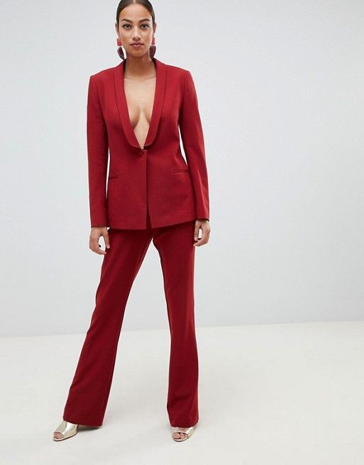 ASOS Design Forever Red Suit