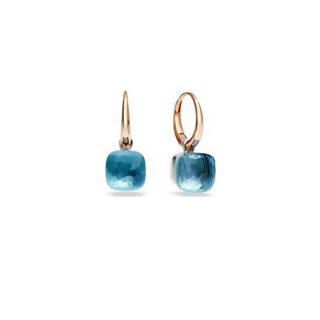 Italian Jewelry Brands with Blue Earrings