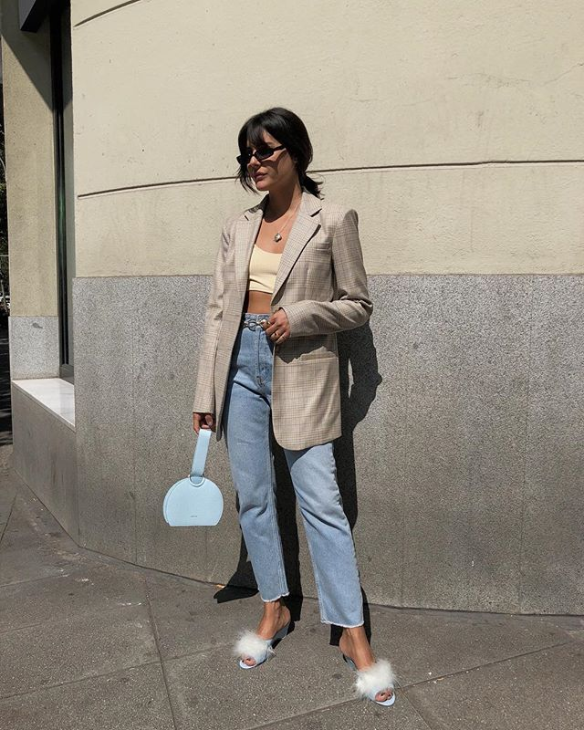 How to Wear a Bralette with Jeans