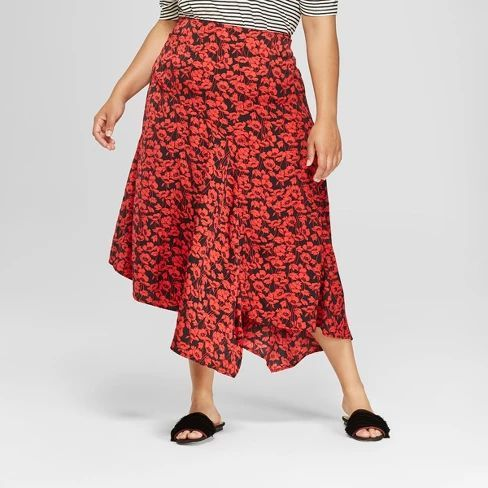 Colors that Go with Gray  and Red Skirts
