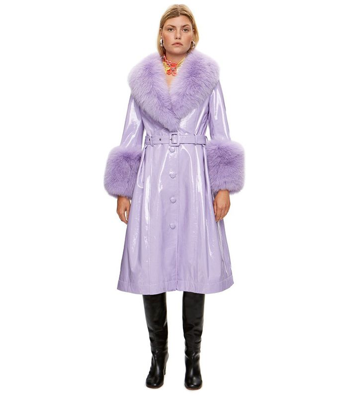 The 17 Gorgeous Purple Winter Coats You Need Who What Wear