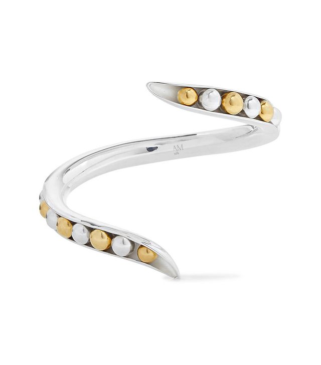 Anne Manns Eadie Silver and Gold-Plated Cuff