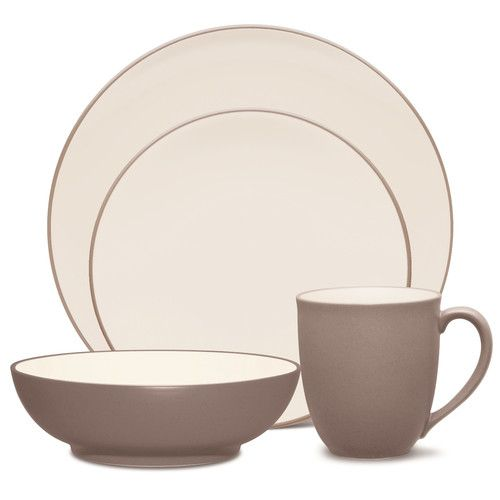 Noritake 16 Piece Colorwave Clay Place Setting