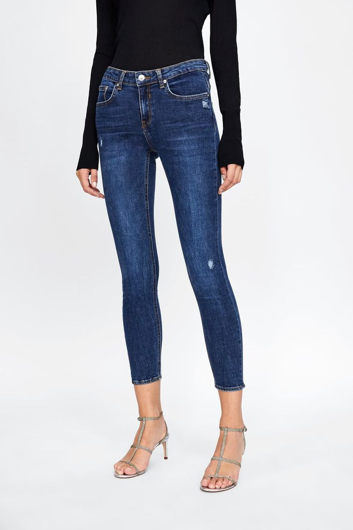 ec0ea283 I Reviewed 3 of the Best Skinny Jean Styles at Zara | Who What Wear