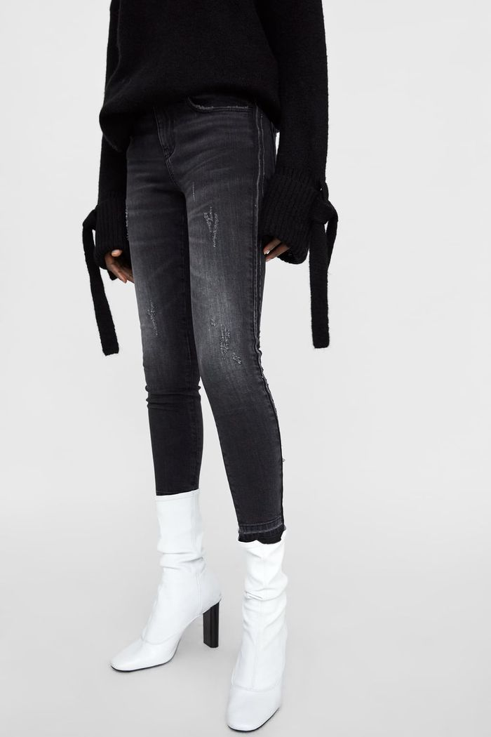 b0575c97 I Reviewed 3 of the Best Skinny Jean Styles at Zara | Who What Wear