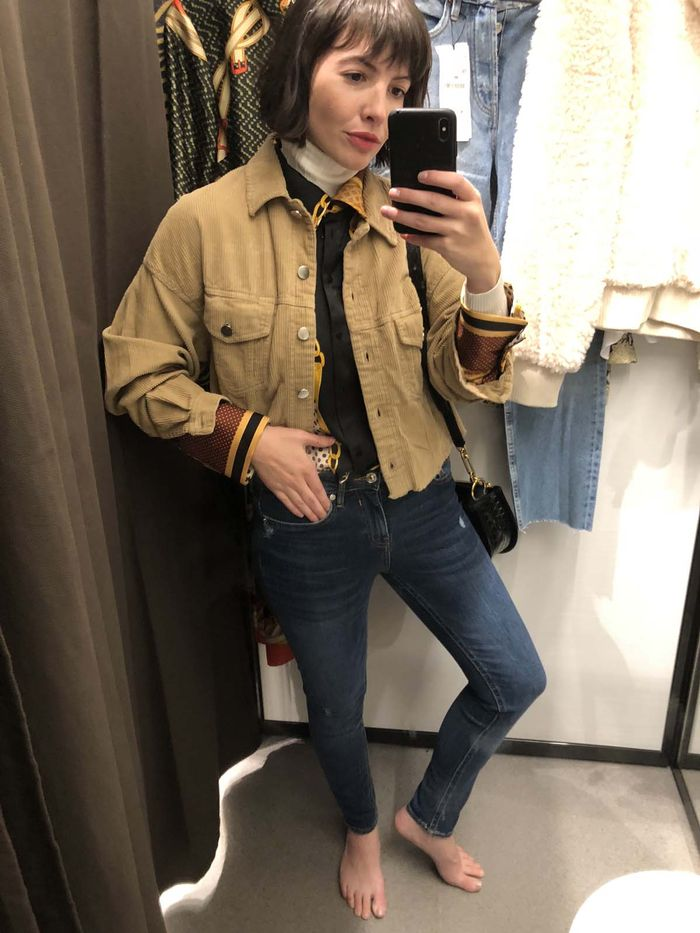e0b10bd376c I Tried on the Best Skinny Jeans at Zara So You Don t Have To