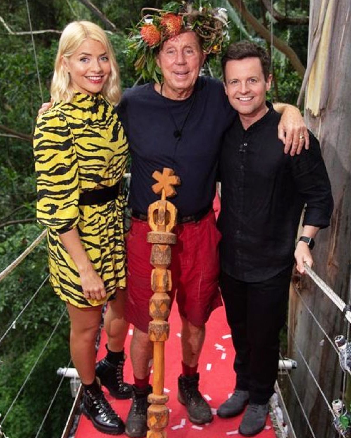 All of the Amazing Ankle Boots Holly Willoughby Wore In the Jungle