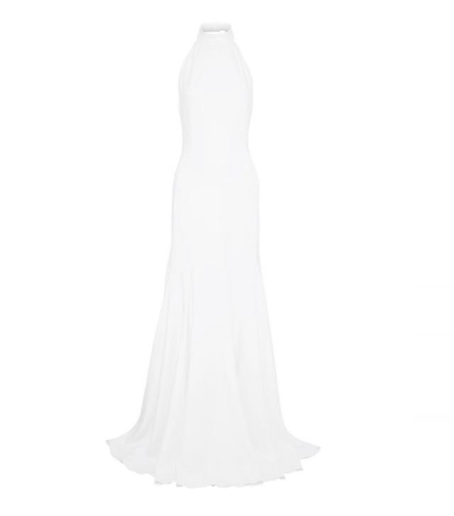 Stella McCartney Crepe Halterneck Gown