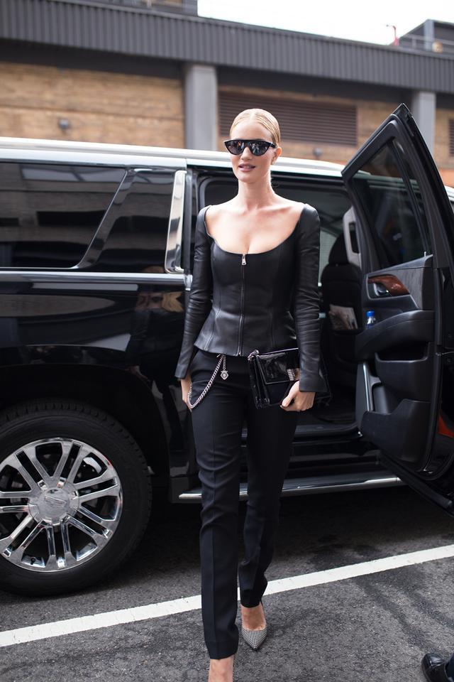 Celebrity style rules: Rosie Huntington-Whiteley