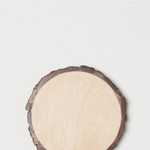 H&M 4-Pack Wooden Coasters