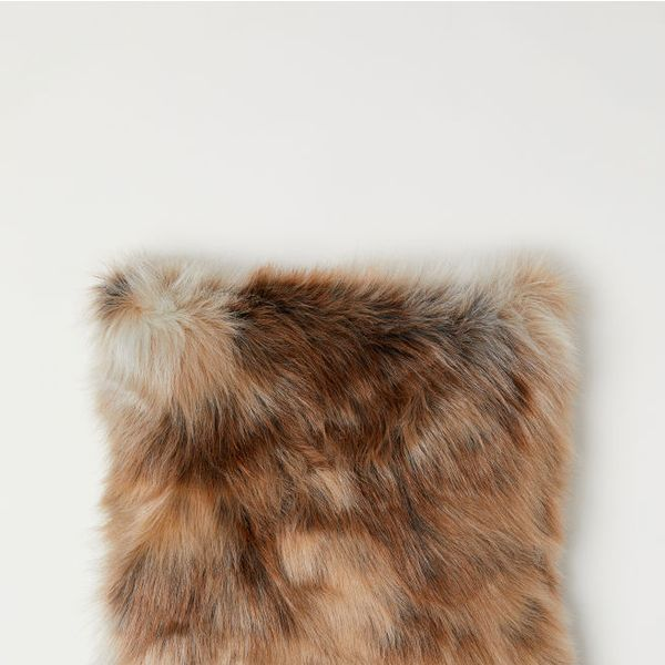 H&M Faux Fur Cushion Cover