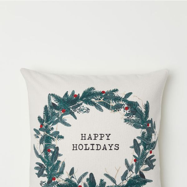 H&M Christmas-Motif Cushion Cover