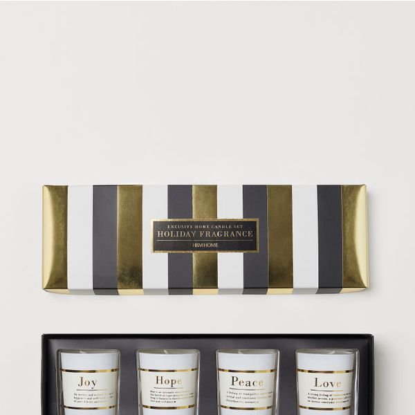 H&M Boxed 4-Pack Scented Candles