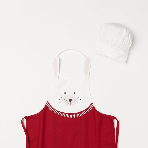 H&M Apron and Chef's Hat
