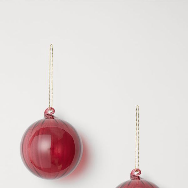 H&M 2-Pack Christmas Ornaments