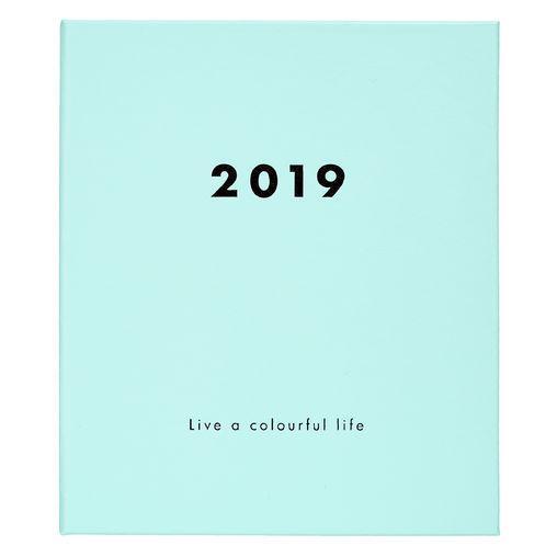 kikki.K 2019 Leather Colour-Code Weekly Diary