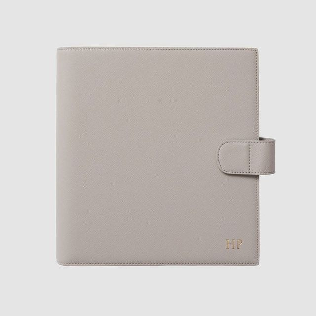 The Daily Edited Mist Grey 2019 Planner