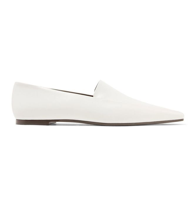 The Row Minimal Leather Loafers