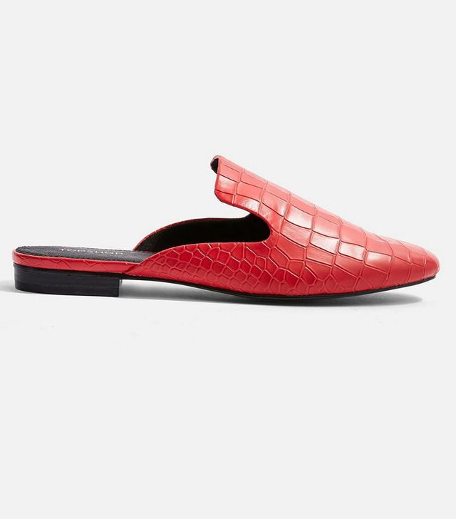 Topshop Lili Backless Loafers