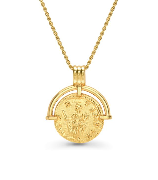 Missoma x Lucy Williams Roman Arc Coin Necklace