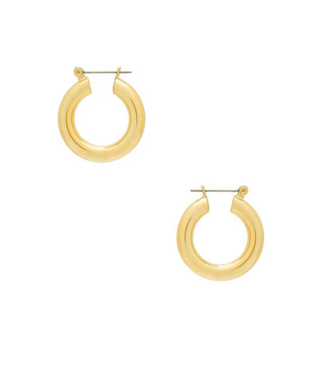 Luv AJ Baby Amalfi Tube Hoop Earrings