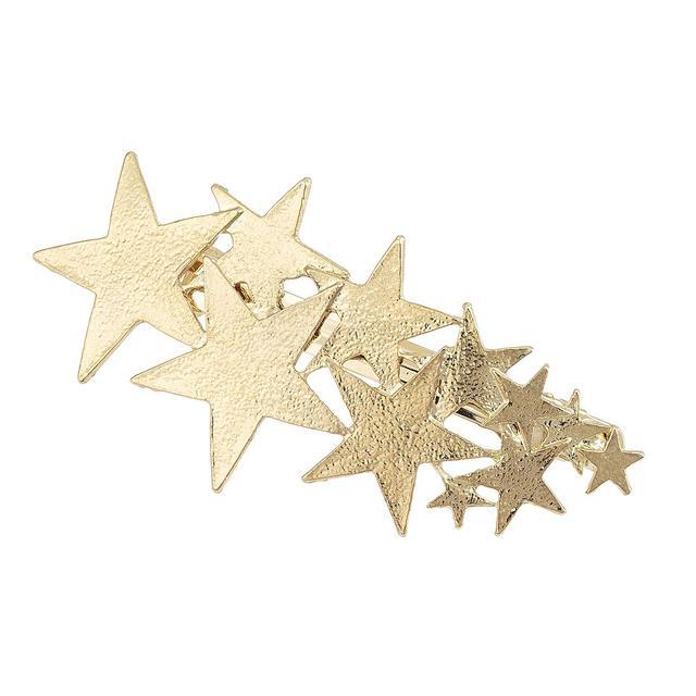 Oliver Bonas Star Cluster Gold Clip 12