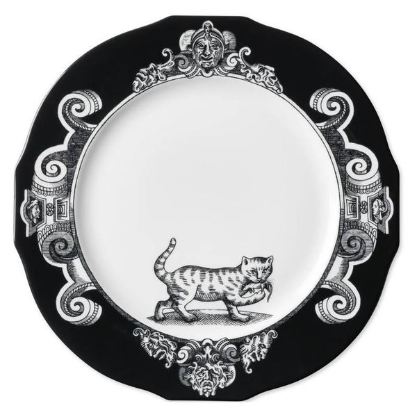Gucci Cat Charger Plate, Set of Two