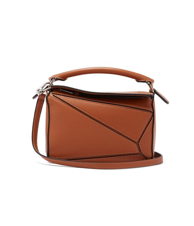 Loewe Puzzle Mini Grained Leather Cross Body Bag