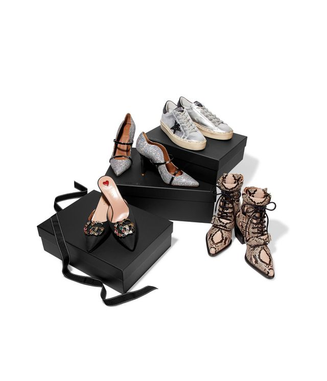 Net-a-Porter Fantasy Gifts The Shoe of the Month Subscription