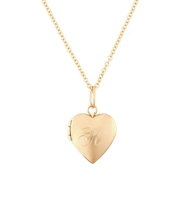 Catbird Dollhouse Heart Necklace