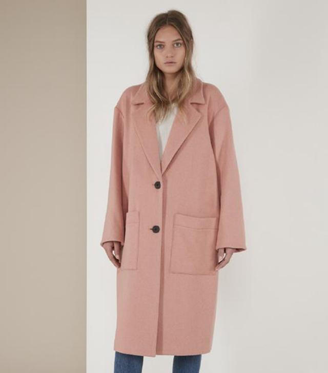 Michelle Waugh The Veronica Oversized Wool Boyfriend Coat