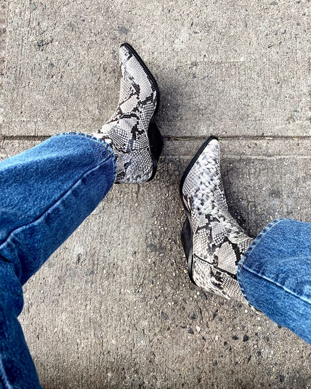 @TrustMeBuyThis Ankle Boots
