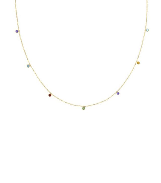 Tacori x Who What Wear Love, Los Angeles Lucky 7 Hanging Gems Necklace