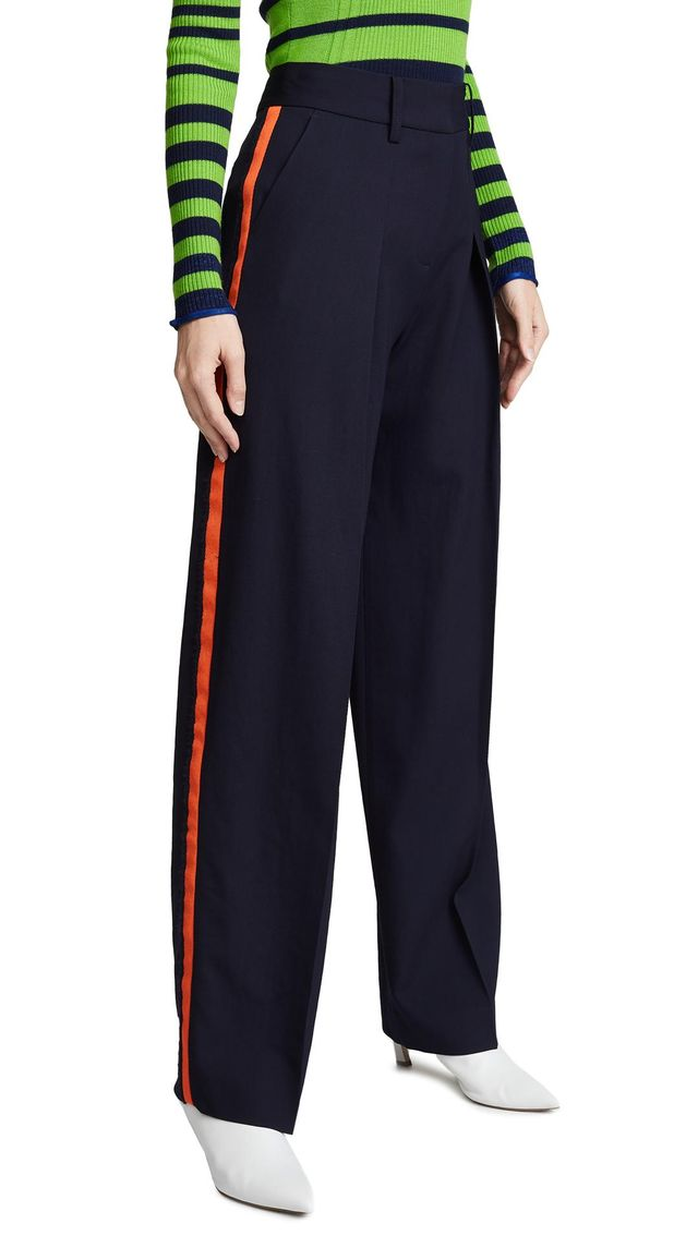 Victoria by Victoria Beckham Front Pleat Pants