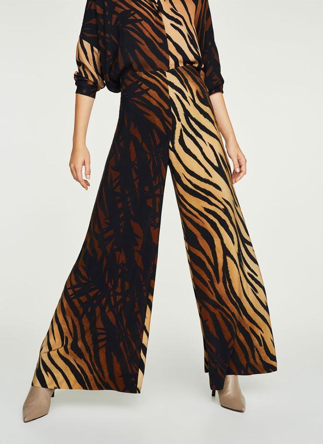 Uterqüe Zebra Trousers