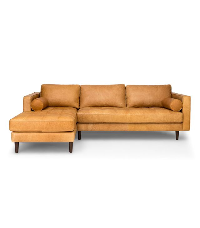 Article Sven Mid-Century Modern Left Sectional