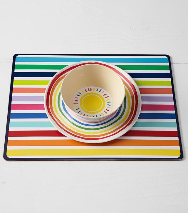 Pottery Barn Kids Eco Rainbow Plates and Bowls
