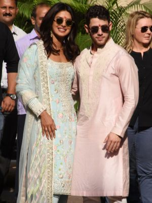 Priyanka Chopra Wore So Many Diamonds at Her Newest Wedding Celebration