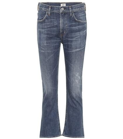 Citizens of Humanity Drew Crop Flare Jeans