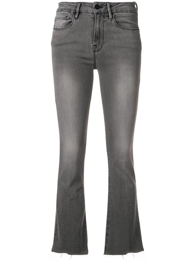 Frame Le Crop Bootcut Jeans