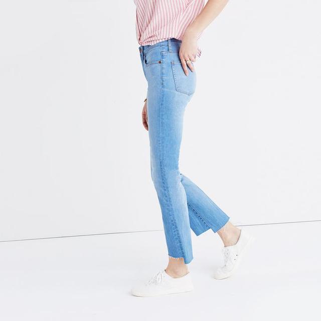 Madewell Cali Demi-Boot Jeans: Step-Hem Edition
