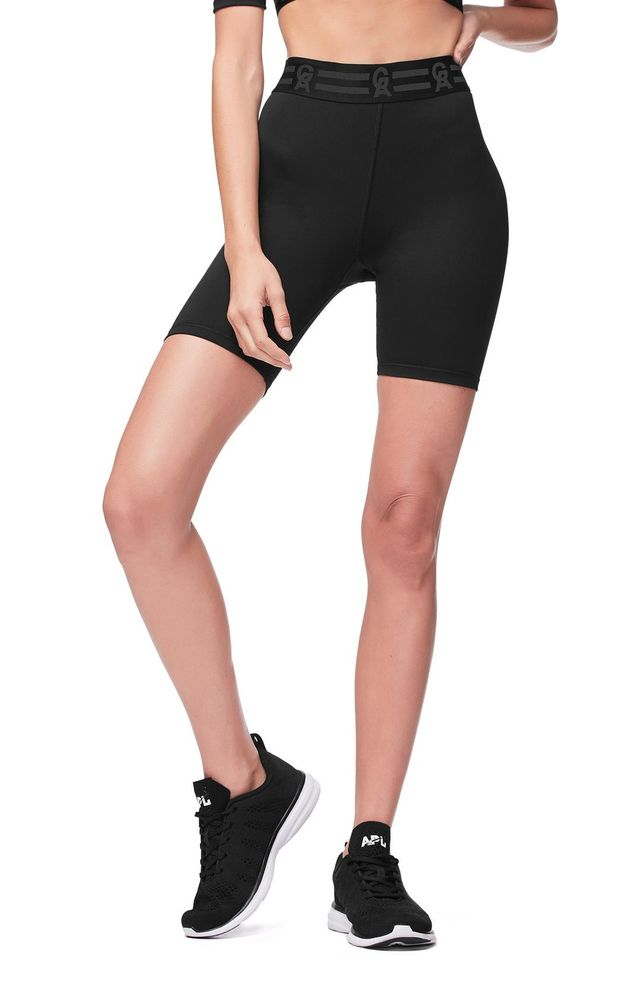 Good American Icon High Waist Biker Shorts