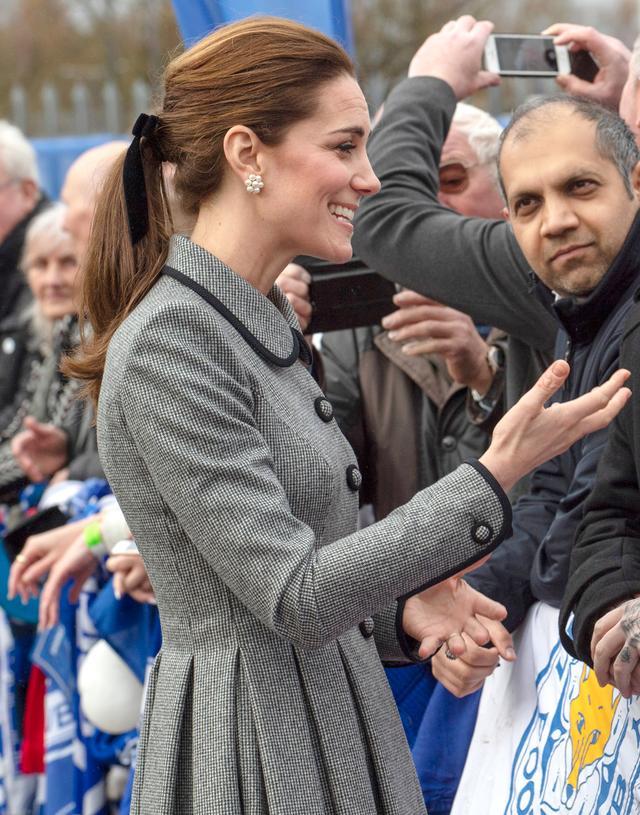Kate Middleton Hair Bow