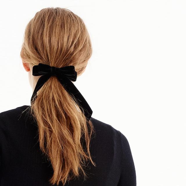 J.Crew Velvet Hair Tie