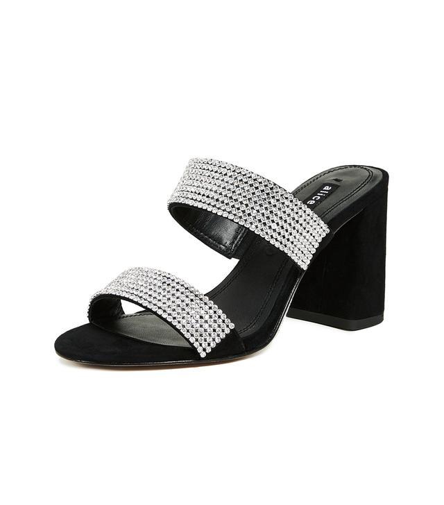 Alice + Olivia Laleah Double Strap Sandals