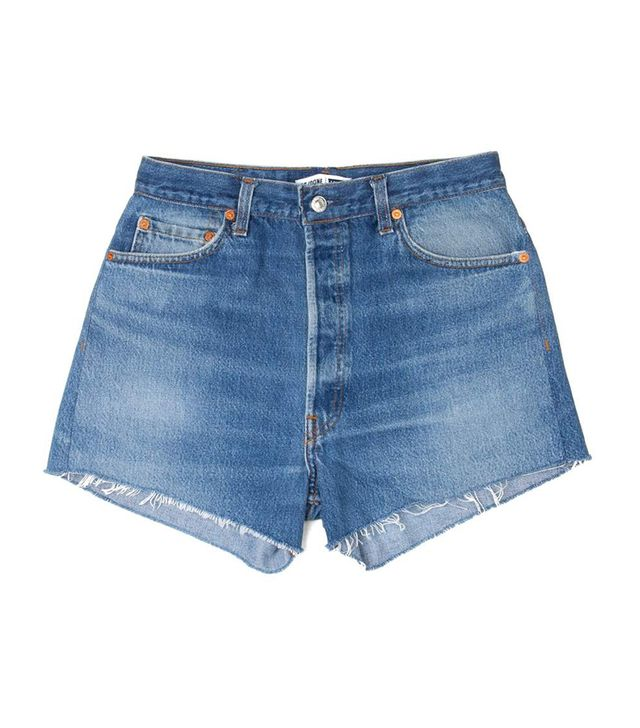 Re/Done x Levi's High Rise Relaxed Shorts