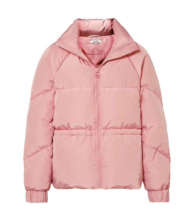 Ganni Whitman Quilted Shell Down Jacket