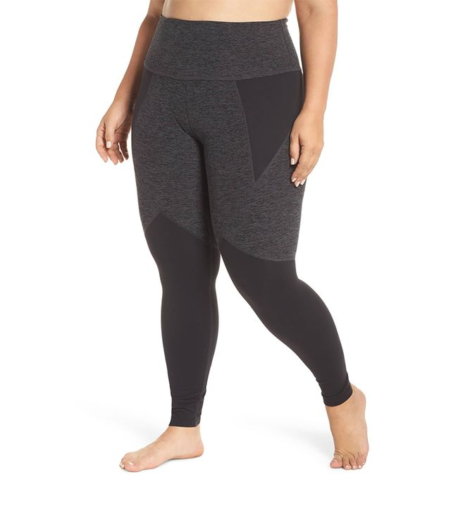 Beyond Yoga Paneled Space Dye High Waist Leggings