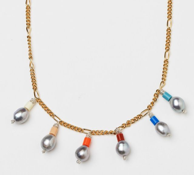 Wald Berlin Love Don't Cost a Thing Pearl Necklace